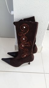 Women's Boots Brown size 40 in Ramstein, Germany