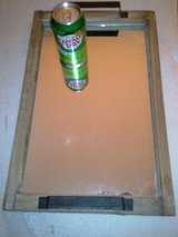 Vintage Solid Pine Wood Mirror Tray in Ramstein, Germany