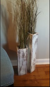 Wood floor vase wedding supplies home decor shabby chic in Camp Lejeune, North Carolina