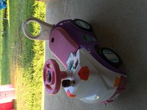 Doc Mcstuffins ride and push in Cleveland, Texas
