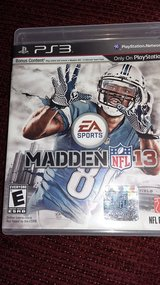PS3 Madden NFL13 in Ramstein, Germany