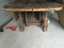 Wood table in Conroe, Texas