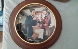 Casablanca-We'll Always Have Paris Framed Decorative Plate in Houston, Texas