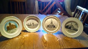 Reduced~United Methodist Church Plates in Camp Lejeune, North Carolina