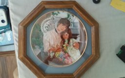 """A Cherished Time"" Framed Decorative Plate in Houston, Texas"