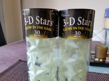 3-D STARS GLOW IN THE DARK in Lakenheath, UK