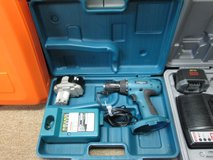 "Makita MAKTEC MT065 18V 1/2"" Cordless Drill/Driver W/ Charger, Battery and Carry Case in Elgin, Illinois"