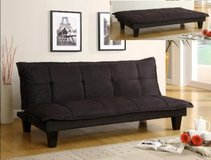SALE! ALL HAS TO GO! 30-50% OFF RETAIL!! URBAN SUEDE BLK SOFA BED / FUTON SLEEPER!! in Vista, California