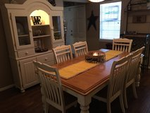 Dining Table and Hutch in Cleveland, Texas