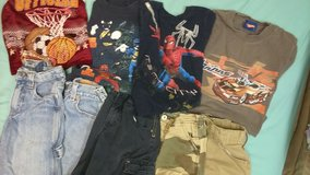 5 pairs of boys shorts 3 tshirts and one muscle shirt in St. Louis, Missouri