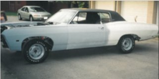 1968 Chevy Caprice in Fort Campbell, Kentucky