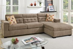 CLEARANCE SALE CHENILLE SECTIONAL in 29 Palms, California