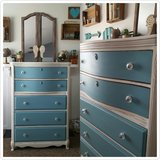 Vintage tall chest of drawers in Camp Lejeune, North Carolina
