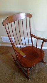 Nichol and Stone Antique Rocking Chair - Reduced in Lockport, Illinois