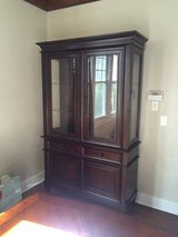 Mahogany china cabinet in Glendale Heights, Illinois