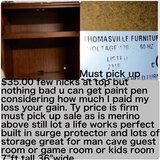 $35.00 Reduced Thomasville Hutch built in surge protector in Fort Sam Houston, Texas