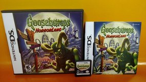 Nintendo DS Goosebumps Horrorland Video Game In Case RARE / Complete in Houston, Texas