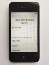 iPhone 4, 16GB, Black, Unlocked. in Grafenwoehr, GE