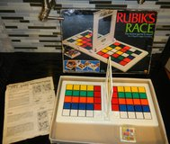 1982 RUBIK'S RACE Table Top Mind Speed Race Game COMPLETE in Kingwood, Texas