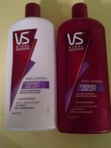 18 bottles of the 25.3 oz size Vidal Sassoon Pro Series shampoos and conditioners in Fort Benning, Georgia