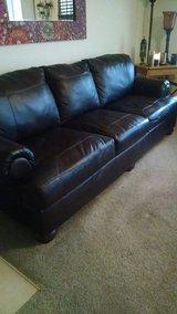 Leather sofa and loveseat in Wilmington, North Carolina