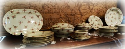Finest Limoges French dinner set in Ramstein, Germany