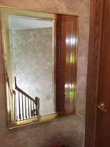 REDUCED! Gold Mirror with Beveled Edges in Aurora, Illinois