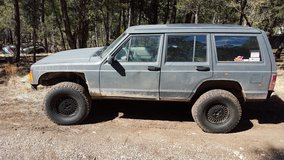Lifted Jeep Cherokee 4x4--For Sale or Trade in Ruidoso, New Mexico