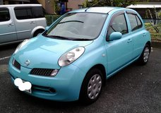 2005. Nissan March. Low milage. 2yas JCI included. Very Clean in Okinawa, Japan