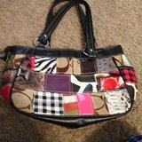 Multicolor Coach Purse in Tyndall AFB, Florida