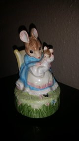 Mother's day special Bunny mom and baby music box Rock a bye baby twirls in Alamogordo, New Mexico