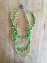 3 String Green Necklace in Dyess AFB, Texas