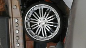 24 inch rims brand new tires. 478-334-9396 in Warner Robins, Georgia
