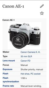 canon camera with 2extra lens and flasher in Los Angeles, California
