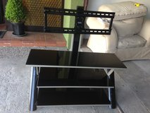 Black glass TV STAND in Ramstein, Germany