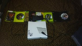 Xbox 360 (with 4 games included) in Beaufort, South Carolina