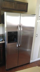 Brand New* Stainless Steel Refrigerator DEEP DISCOUNT in Fort Carson, Colorado