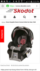 Graco Snugride Classic Connect Brand New in BOX in Orland Park, Illinois