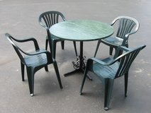 Patio/Sun Room Table & Chairs in Lockport, Illinois