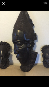 Solid Wood African Masks in Belleville, Illinois
