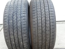 2 - Used 225/50R17 Continental Conti Touring Contact Tires in Westmont, Illinois
