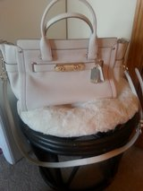 COACH white swagger purse in Oswego, Illinois