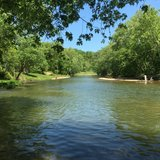 Big Piney River in Fort Leonard Wood, Missouri