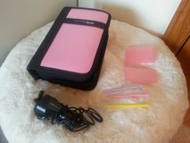 Pink Nintendo DS traveling case w/ traveling supplies in Chicago, Illinois