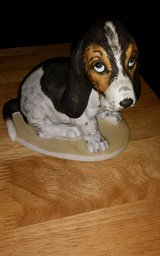 Figurine - Basset Hound Puppy in Okinawa, Japan