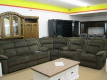 """Model """"Walker"""" Sectional in the colors brown and coco - price includes delivery in Hohenfels, Germany"""