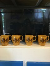 Vintage Butterfly Mugs in Camp Lejeune, North Carolina