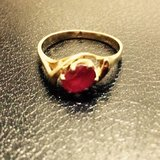14k Ruby Ring Perfect for Mother's Day in Alamogordo, New Mexico