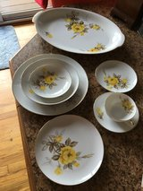 Vintage Cotillion Yellow Rose China by Sango in Camp Lejeune, North Carolina