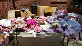 newborn-3 month lot of girls clothes in Fort Benning, Georgia